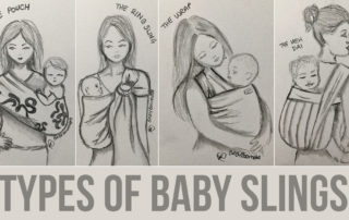 Baby Boomba - Types of Baby Slings